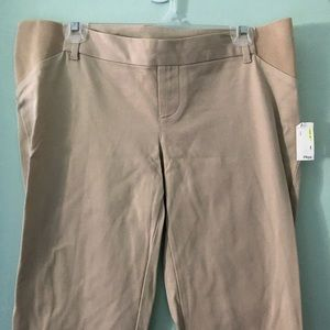 Old Navy side panel Pixie pants 10 maternity